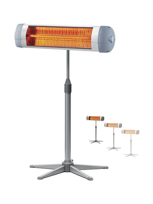 RAKS OLIMPOS A2000 Free-Standing Infrared Heater 2000 W