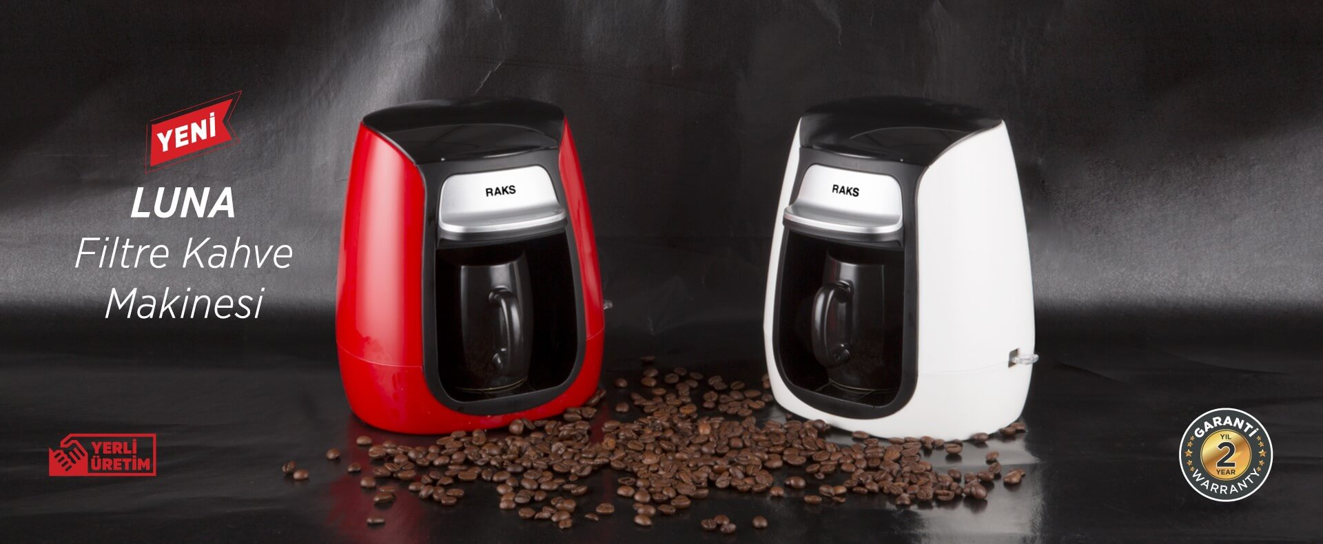 Luna Filtre Kahve Makinesi